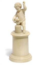 A North European ivory figure