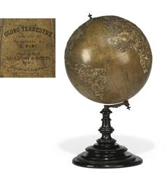 An Italian terrestrial globe