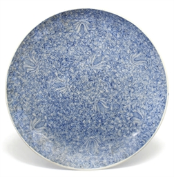 A Chinese blue and white charg