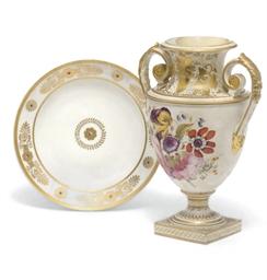 A Derby Porcelain Vase