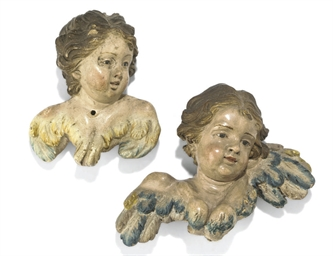 Two Neapolitan creche figures