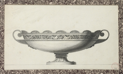 Design for a tazza decorated w