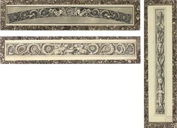 Three designs for elaborate fr