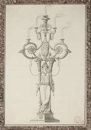 Design for an elaborate candel