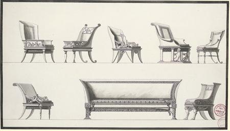 Designs for seven elaborate ar