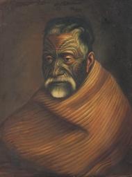 Tuhoto Ariki, a Maori high pri