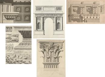 Architectural studies of friez