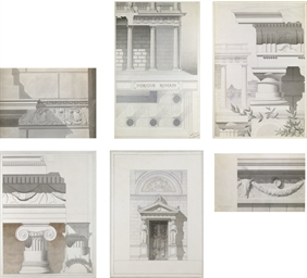 Architectural studies of Roman