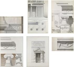 Architectural studies of Roman