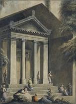 The tomb of Amyntas at Fethiye, Turkey
