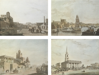 Views in Calcutta 1768-1788, (