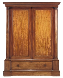 A SCOTTISH REGENCY MAHOGANY LI