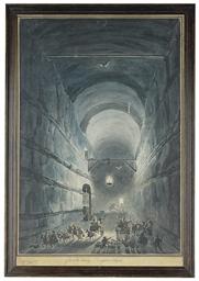 The Grotto of Posillipo, Naple