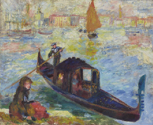 Gondola, Venise