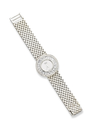 A LADY'S 'HAPPY DIAMOND' WRIST