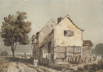 View of a cottage, possibly Chiswick