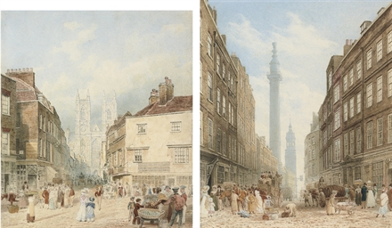 View of Tothill Street with We