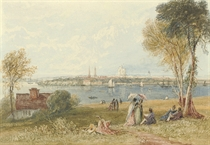 View of Southampton Water
