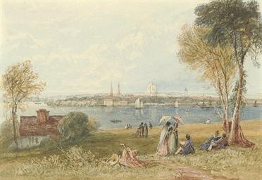 View of Southampton Water