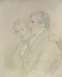 Double portrait of Richard Row
