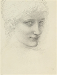 Study for a head of a mermaid