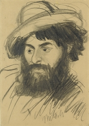 Portrait of a bearded man, wea