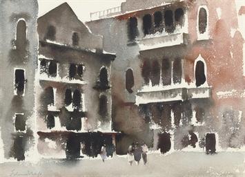 A square in Venice