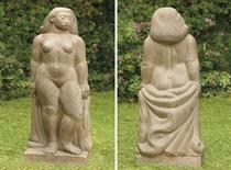 Desnudo de pié