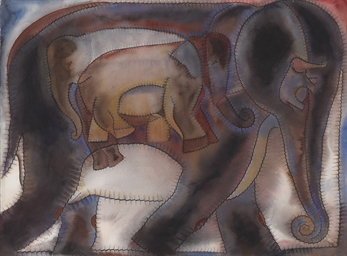 La familia de elefantes