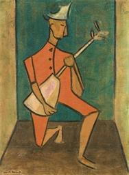 Untitled (Figura masculina con