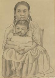 Mujer y niña