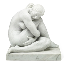 Untitled (Sitting Nude)