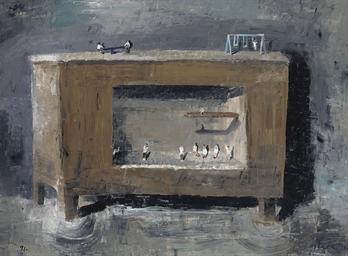 Plaza sobre el mueble