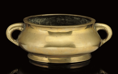 A Bronze censer, 18th Century