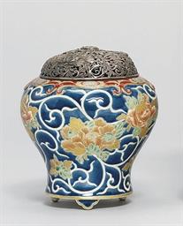 A Satsuma Bowl and Vase