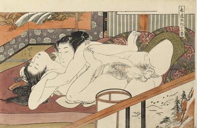 Isoda Koryusai (act. c. 1768-1