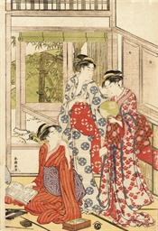 YUSHIDO SHUNCHO (act. c. 1780