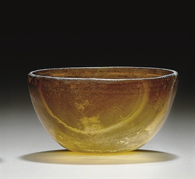A GREEK GLASS CUP