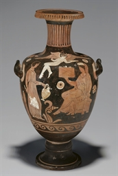 A CAMPANIAN RED-FIGURED HYDRIA