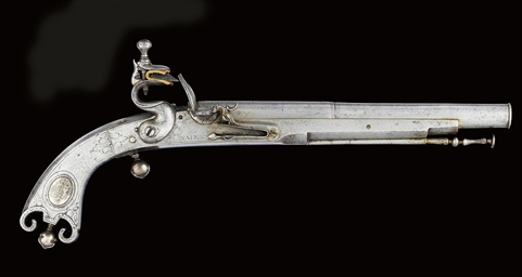 A SCOTTISH ALL-METAL FLINTLOCK