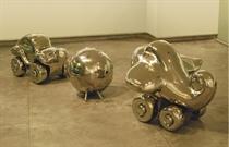 Toys: Airplane - Car - Sprung Ball
