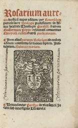 PEPIN, Guillaume. Rosarium aur