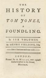 FIELDING, Henry (1707-1754).