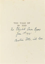 POTTER, Beatrix.  The Tale of