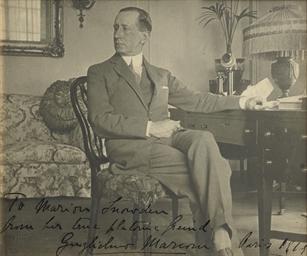 MARCONI, Guglielmo (1874-1937)