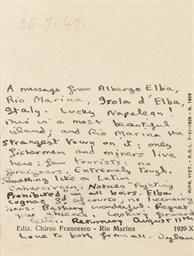 THOMAS, Dylan (1914-1953). Aut