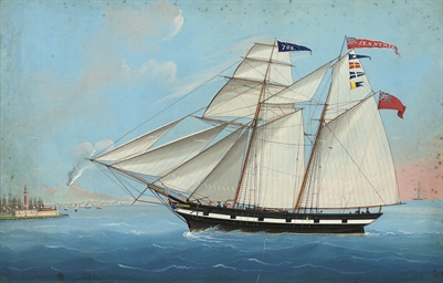 The British schooner Sea Nymph