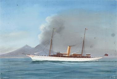 The British steam yacht Emeral