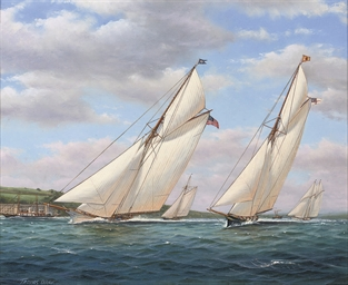 The America's Cup, 1887:  This