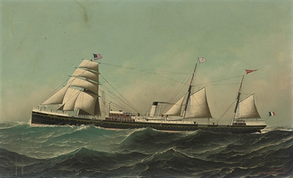 The French steamer Chateau Yqu